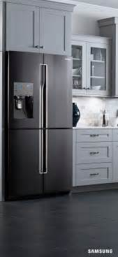 Black Kitchen Cabinets With Stainless Steel Appliances Acero Inoxidable Samsung And Encimeras De M 225 Rmol On