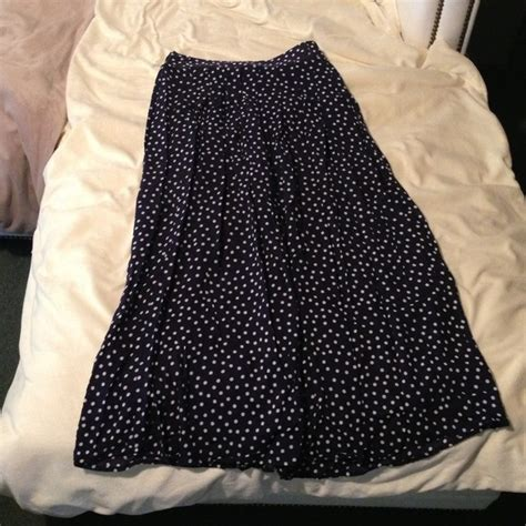 48 dresses skirts pleated highwaisted navy blue