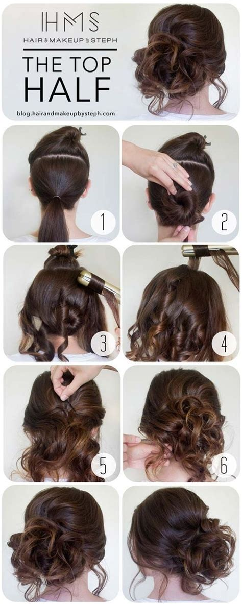 diy 5 fab hairstyles to 1000 ideas about prom hair on grad