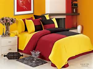 Red And Yellow Bedroom - colorful mart march 2014