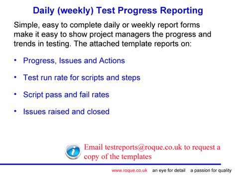 simple test report template tips and templates for test managers