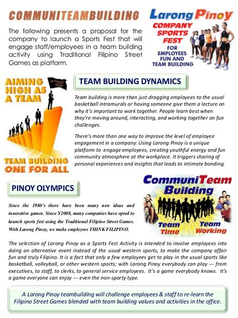 Explanation Letter In Tagalog Larong Mini Olympics Company Sportsfest