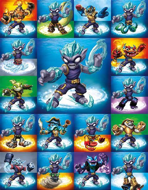 Kaos Mixed Poster 2 image freeze blade swapabilities jpg skylanders wiki