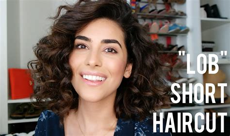 very curly lob my short haircut video sazan