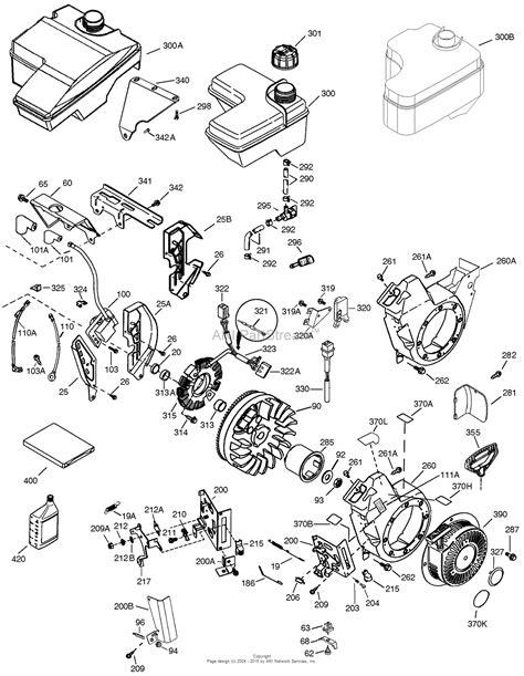 2 parts diagram tecumseh ohh55 69116f parts diagram for engine parts list 2