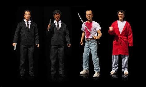gifts for pulp fiction pulp fiction action figures curse for one awesome f ing gift