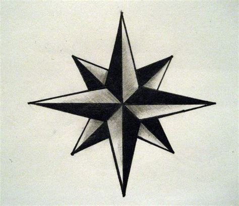 6 point star tattoo designs six point pictures to pin on