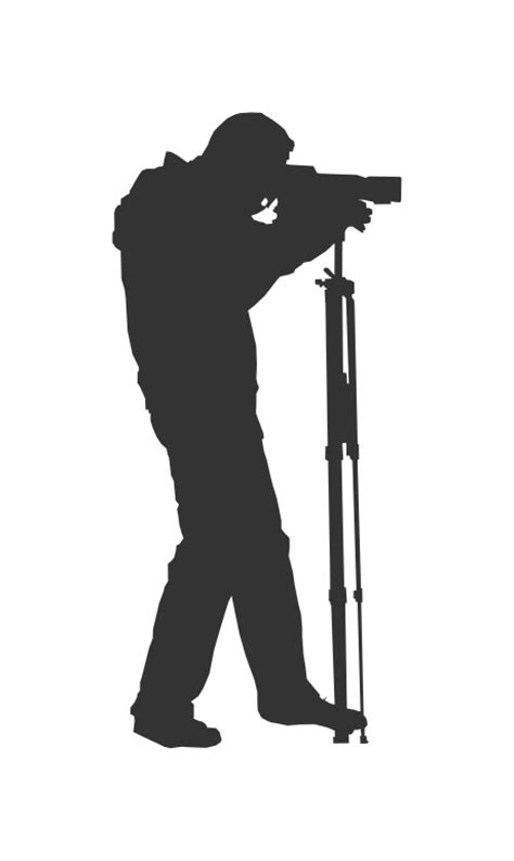 photographer vector photographer silhouette vector eps svg png onlygfx