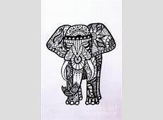 Henna Elephant Drawing at GetDrawings.com   Free for ... Indian Elephant Henna Drawing