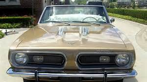 S For Sale 1968 Barracuda Formula S 340 Convertible Classic