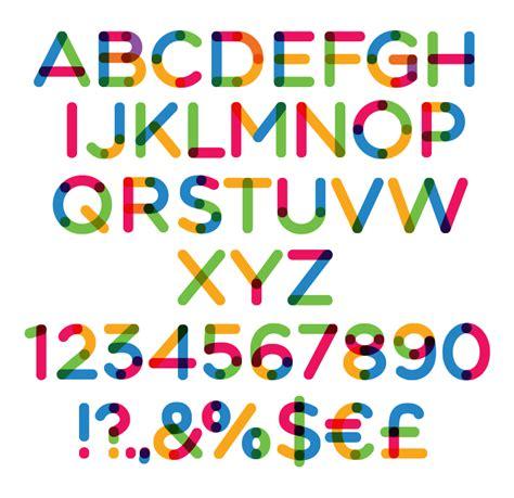 font color multicolore font dafont