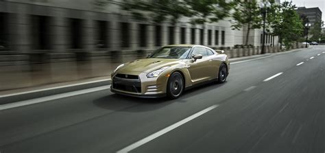 gold nissan car 2016 nissan gt r 45th anniversary gold edition gets its us