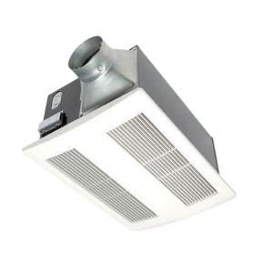 bathroom fans at home depot panasonic whisperwarm 110 cfm ceiling exhaust bath fan