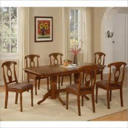 Dining Room Table East West Furniture Perrie Double Pedestal Dining Room Table