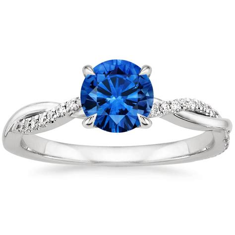 blue engagement rings sapphire engagement rings www pixshark images