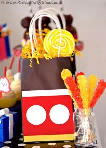 Mickey Mouse Favors Ideas pinned from