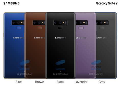 3 Samsung Note 9 Samsung Galaxy Note 9 Komt In Vijf Kleuren En Heeft 4000mah Accu