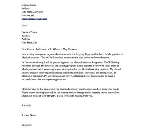 amazing exle of cover letter for medical assistant 53