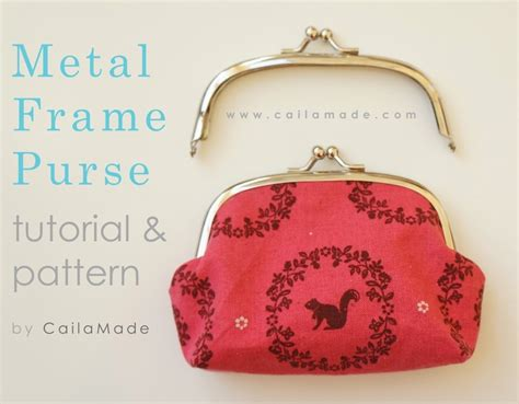 pattern for metal frame clutch 59 best images about metal frame purse patterns on
