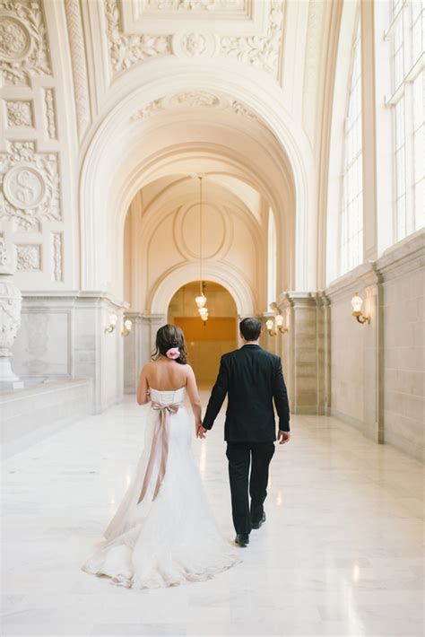 city hall sf wedding makeup hair mei 13 triple twist bridal intimate san francisco city hall wedding 100 layer cake