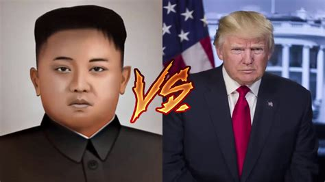 donald trump vs kim jong un donald trump vs kim jong un win rte youtube