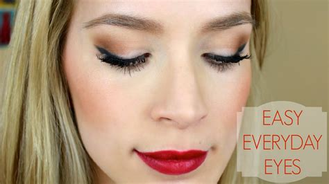 tutorial makeup dinner simple pretty easy eye makeup tutorial youtube