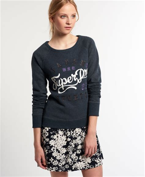 Combie Sweater by Superdry Jpn Sweater Combi Jurk Jurken Voor
