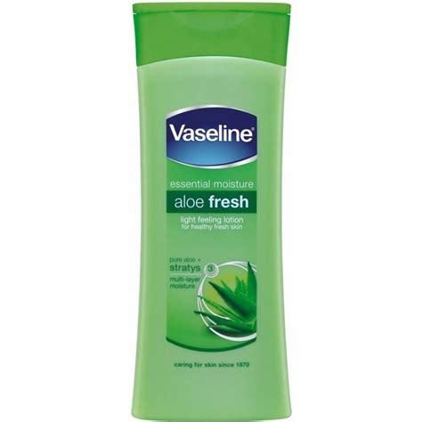 Fresh Lotion Vaseline Intensive Care Aloe Fresh Lotion 400ml Ebay