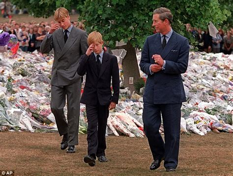 Royals wanted William and Harry in Princess Diana funeral