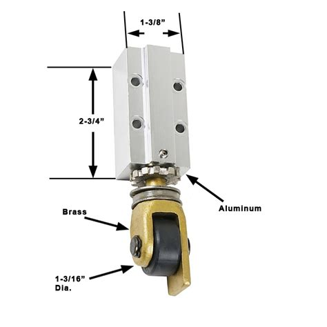 Kawneer Door Parts outboard mall door roller for kawneer doors kawneer brands
