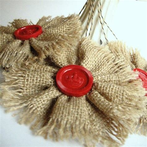 1000 ideas about burlap christmas ornaments on pinterest