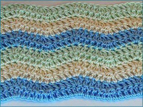 Crochet Ripple Baby Blanket Pattern by Ripple Blanket Crochet How To Crochet