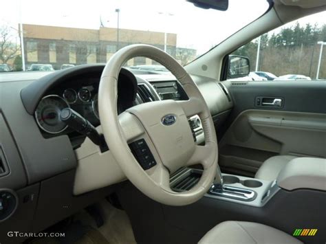2009 ford edge limited awd steering wheel photos