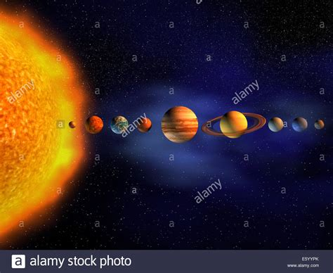 detailed solar system diagram images how to guide and
