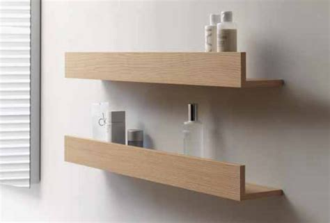 Durastyle Home Bathroom Wall Shelf By Duravit Design Wooden Bathroom Shelving
