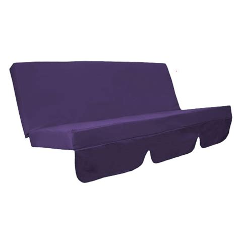 bench seat pad cushions purple water resistant bench cushion set only for swing