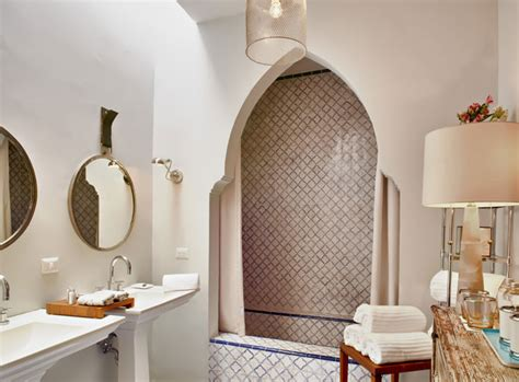 moroccan inspired bathrooms design trend moroccan inspired bathrooms claytan australia