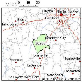 best place to live in newnan zip 30263
