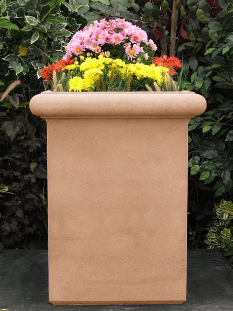 Chelsea Planters by Chelsea Box Cast Planter Mixes Well With