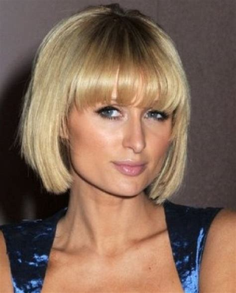 short straight hairstyles with bangs 2013 short haircuts with bangs side swept choppy straight