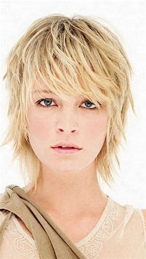 short hair ut feathered off face 40 mejores peinados para el pelo corto short pixie