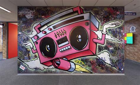 degrees graffiti artists  hire mural art