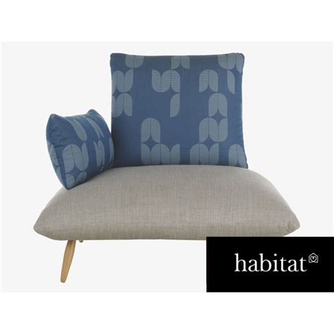 habitat armchair habitat naoko patterned armchair gabnation