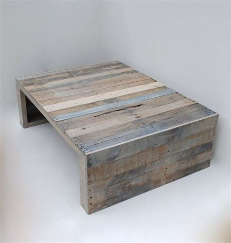 Pallet Coffee Tables Modern Grey Pallet Coffee Table