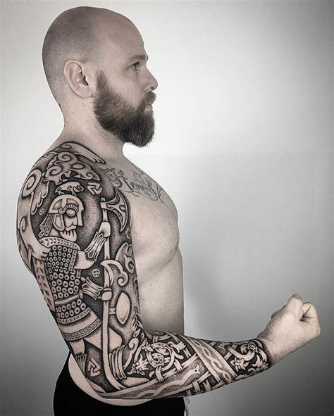 nordic tribal tattoos 17 best ideas about viking sleeve on