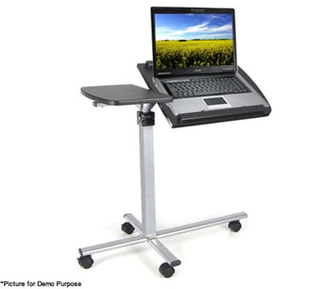 laptop desk on wheels portable ergonomic angle adjustable laptop table desk