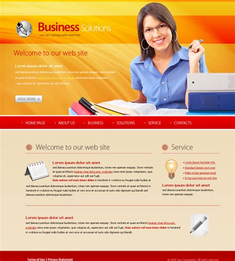 website templates for children s books study center website template 6136 education kids