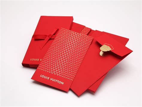 small envelopes for new year lucky money pocket for louis vuitton on behance asia