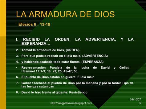 el cristiano con toda la armadura de dios