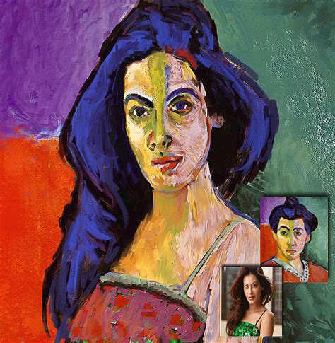 Decorate Your Home Online by Henri Matisse Style Painting By Stelios Savvis